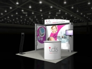 ids trade show display by Structurz Exhibits and Graphics.