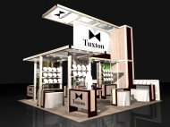Tuxton trade show display by Structurz Exhibits and Graphics.